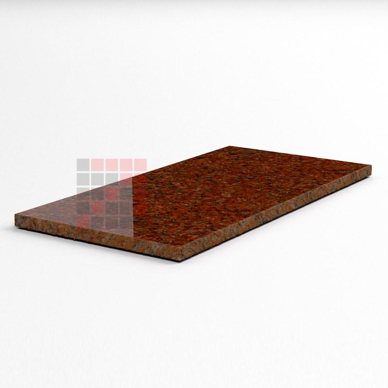 Tile Imperial Red ( Gem Red) 600*600*18 all sawn, top flamed